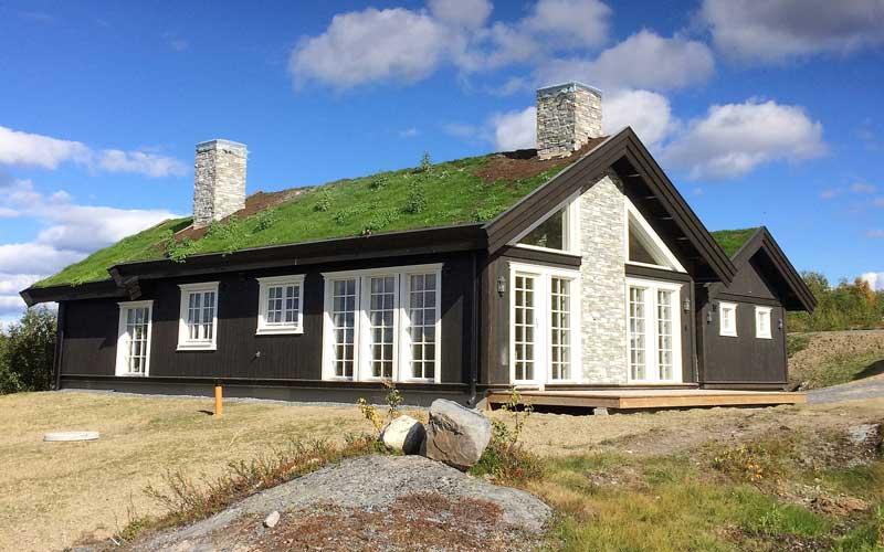 Bygge hus/hytte i Valdres